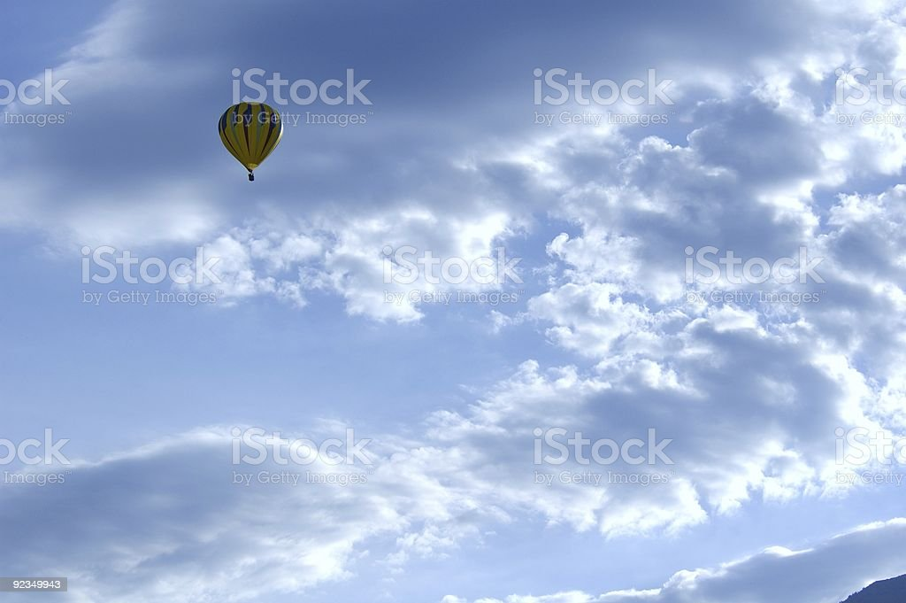 Up Among the Clouds royalty-free stock photo