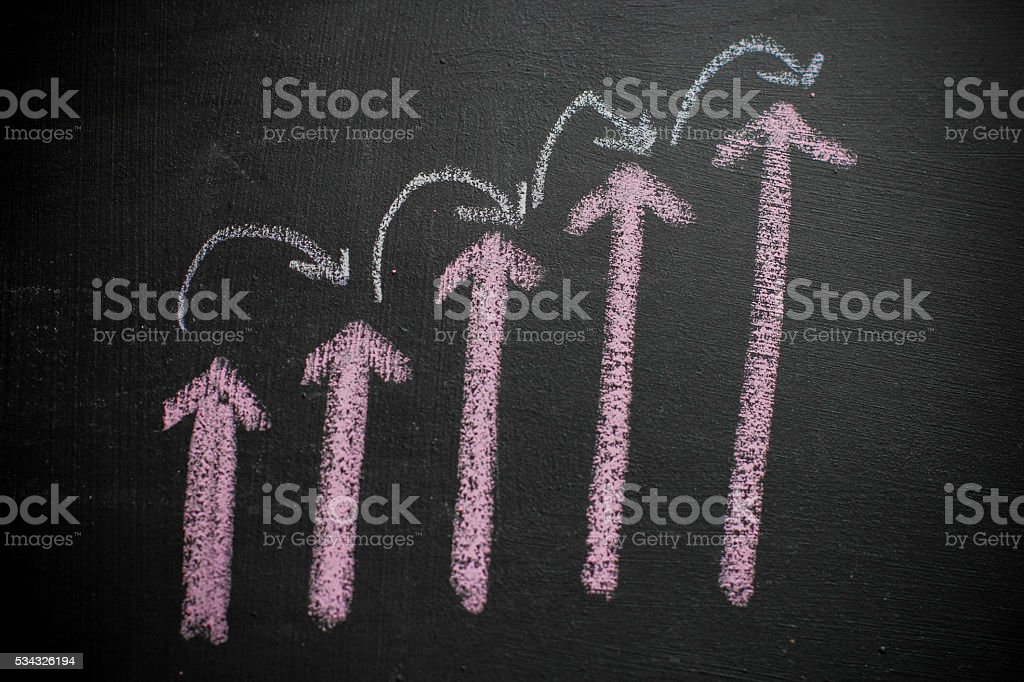 Up and Down syndrome stock photo