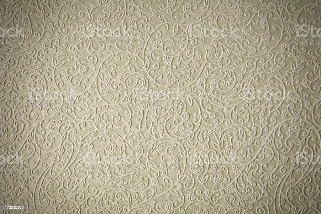Up close photo of floral textured paper stock photo