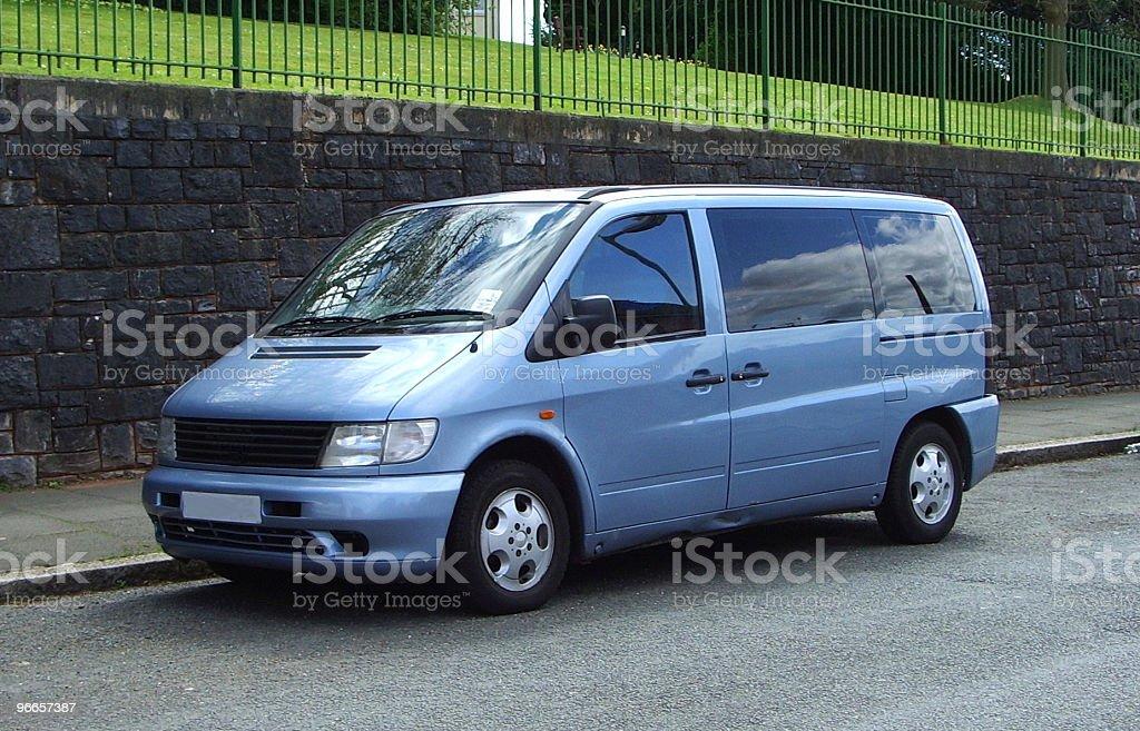 Up Market Minivan royalty-free stock photo