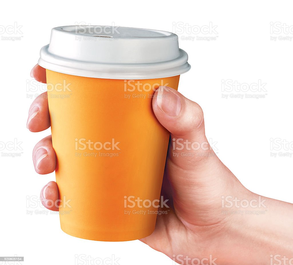 Сup of coffee stock photo