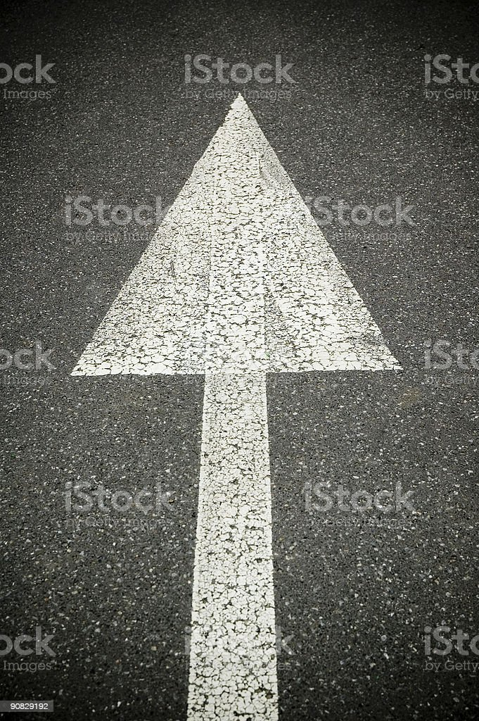 Up Sign royalty-free stock photo