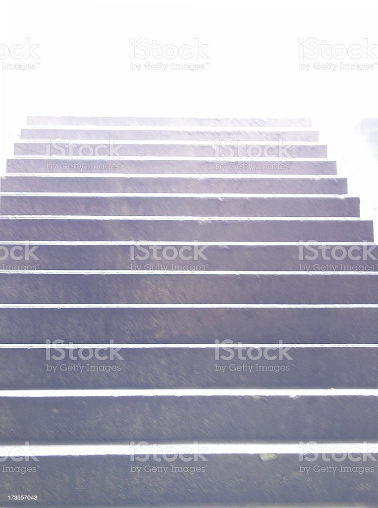 up to nowhere royalty-free stock photo