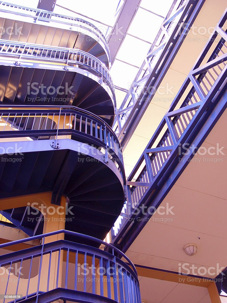 Up to the light royalty-free stock photo