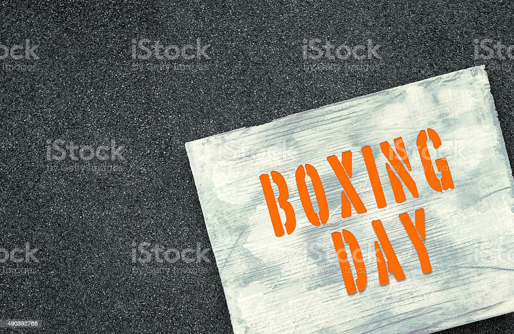 Upcoming holiday announcement stock photo