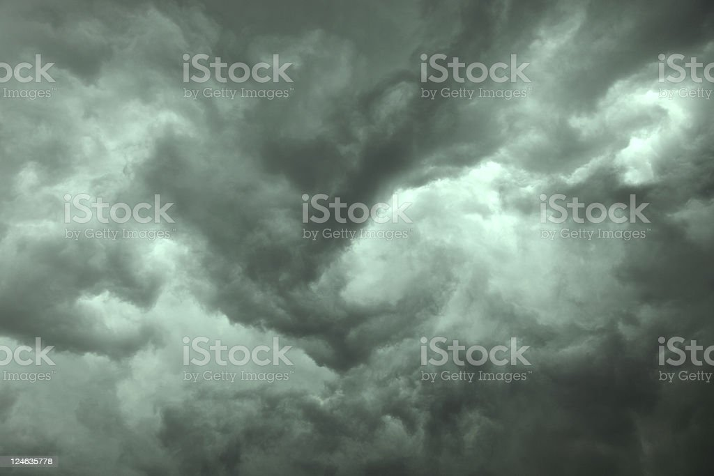 upcomming storm royalty-free stock photo