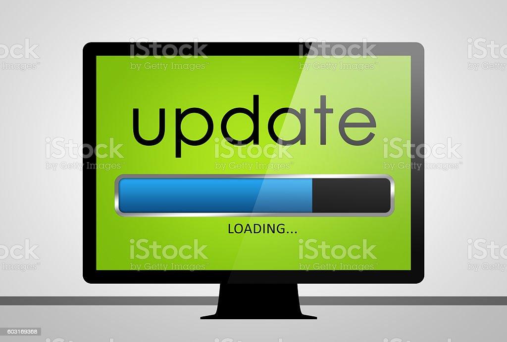 Update loading stock photo