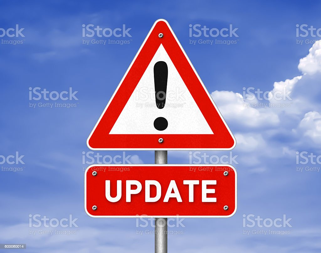 Update software patch illustration stock photo