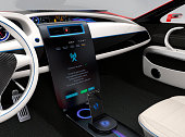 Update vehicle software just touch car's center console screen.