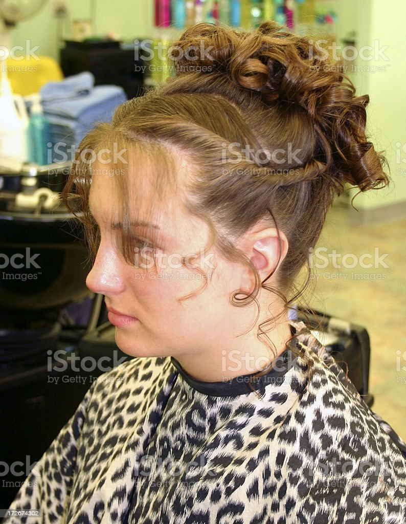 updo royalty-free stock photo