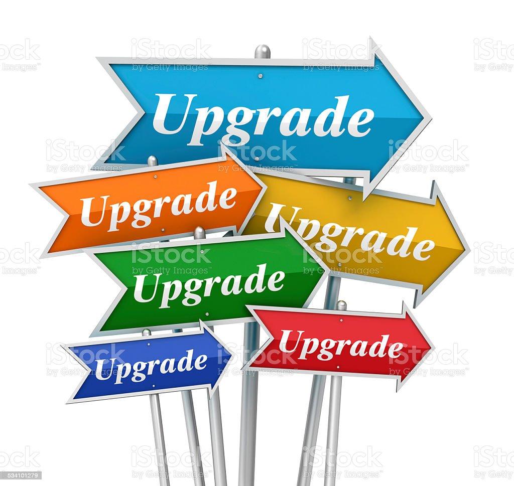 upgrade stock photo