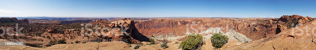Upheaval Dome, Canyonlands, Moab, Utah, USA royalty-free stock photo