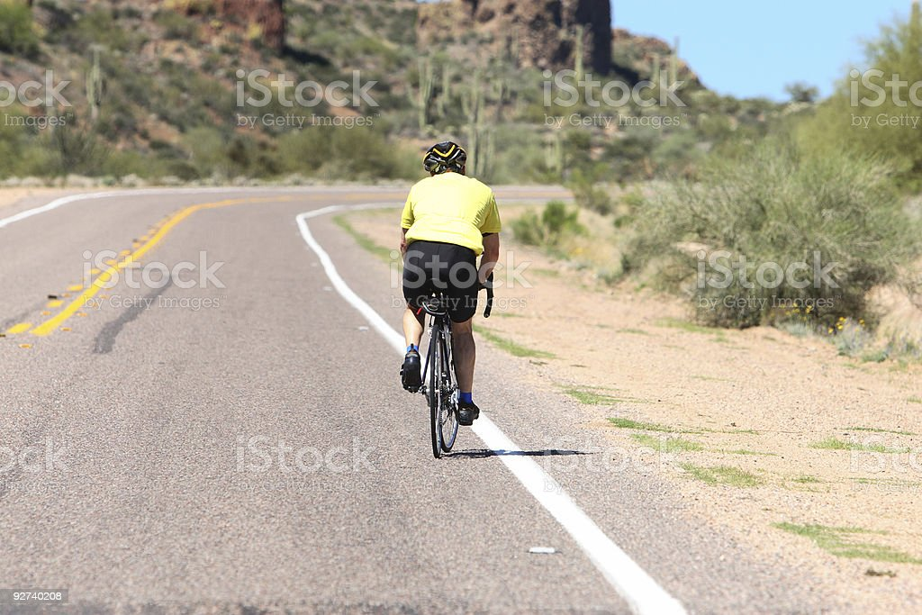Uphill Battle royalty-free stock photo
