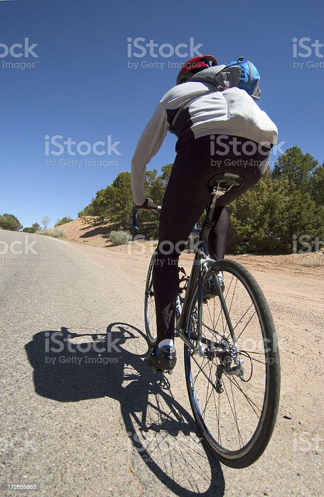 Uphill Climb royalty-free stock photo