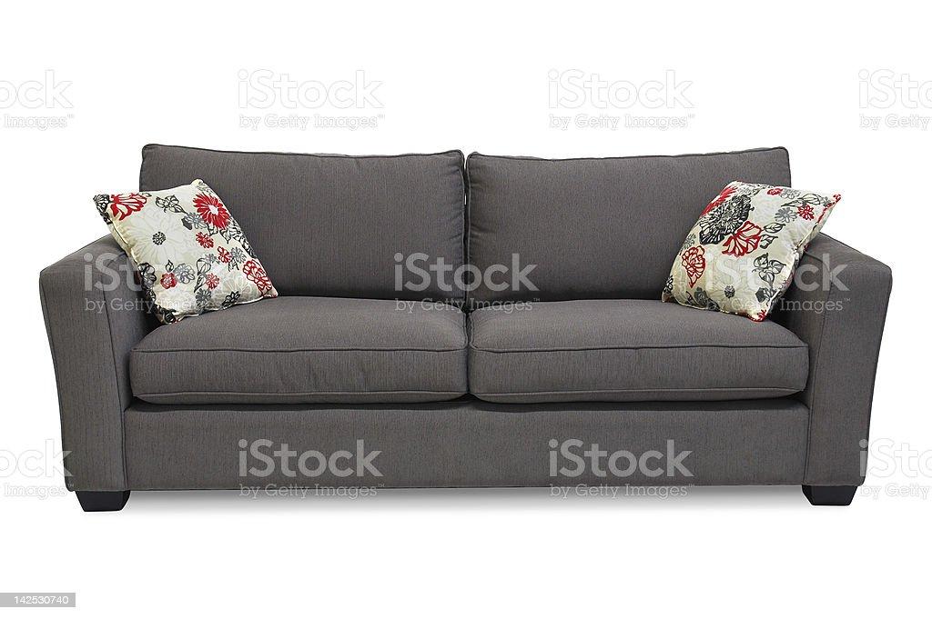 Upholstered Sofa stock photo