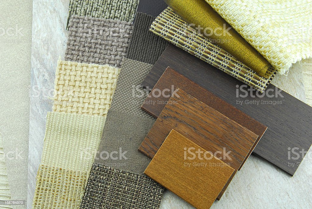 upholstery choice decoration repair planning stock photo