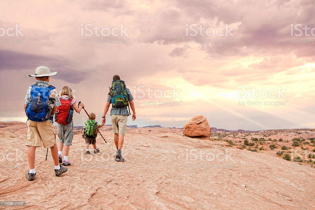 Uplifting Journey stock photo
