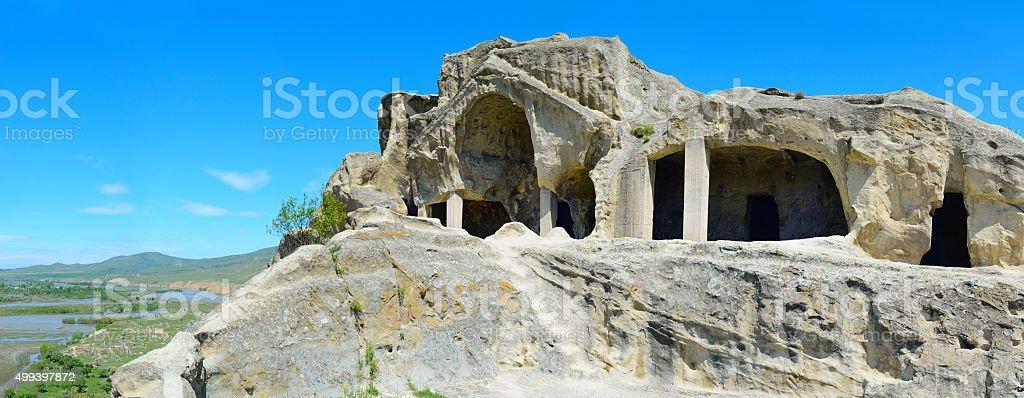 Uplistsikhe ancient city, Georgia stock photo