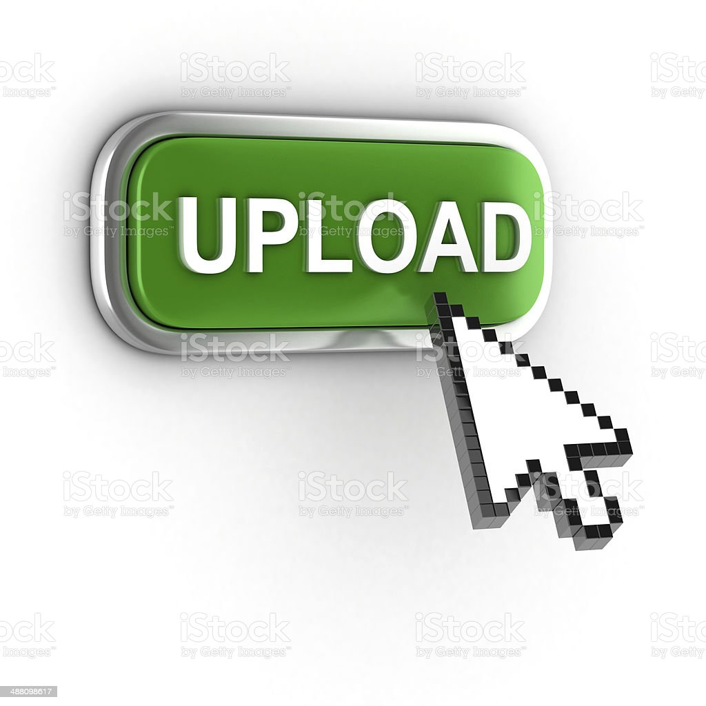 upload 3d icon stock photo