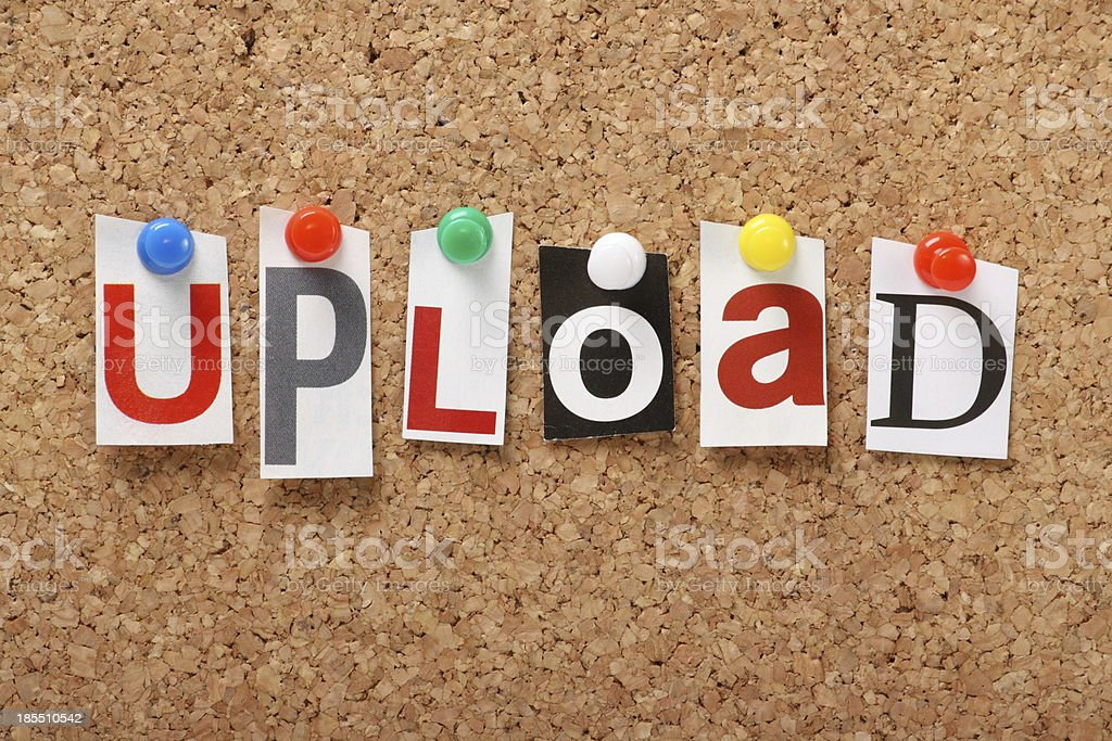Upload royalty-free stock photo