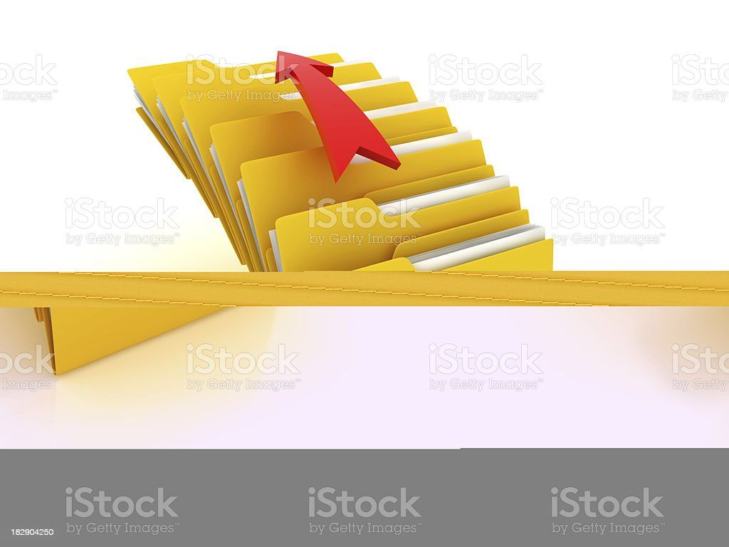 Upload queue stock photo