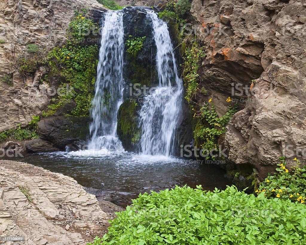 Upper Alamere Falls stock photo