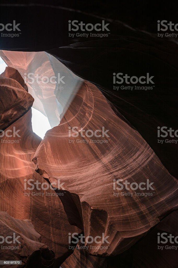 Upper Antelope Canyon, Arizona stock photo