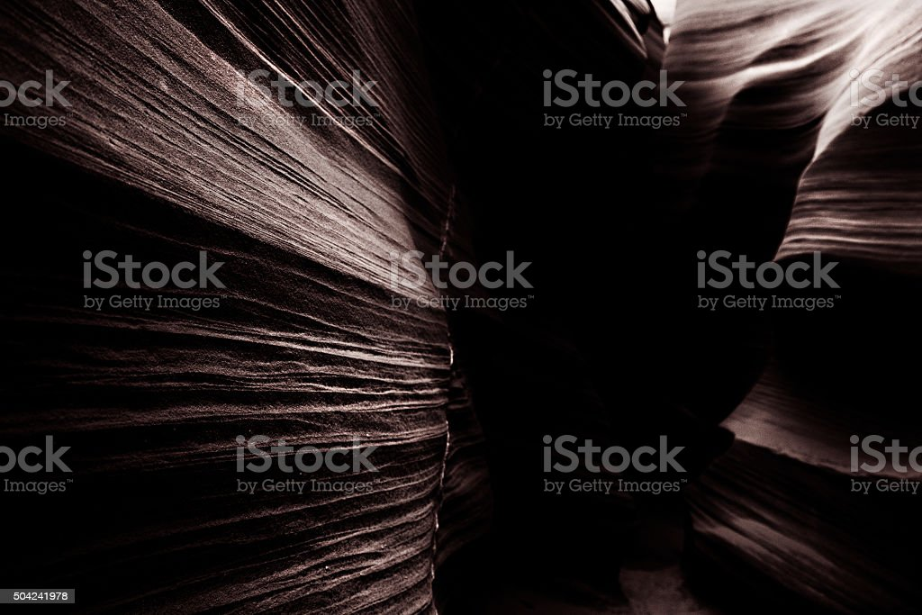 Upper Antelope Canyon in Arizona, USA stock photo