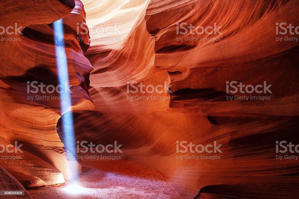 Upper Antelope Canyon stock photo