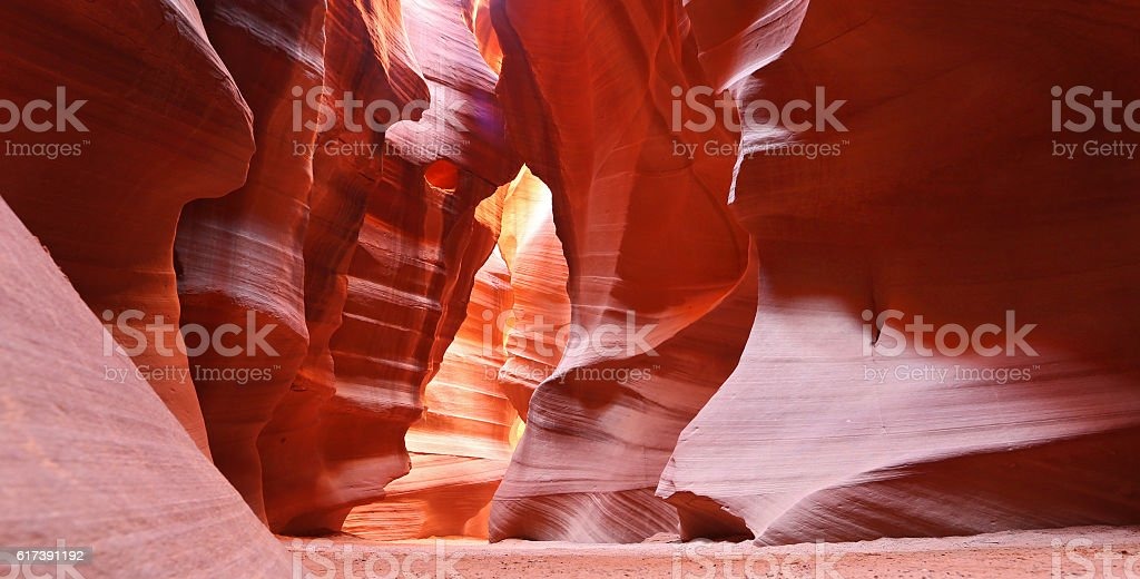 Upper Antelope Canyon stock photo