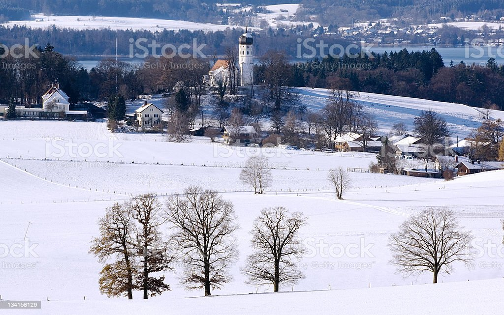 Oberbayern stock photo