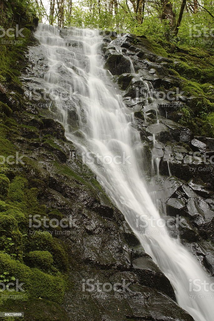 Upper Bridge Creek Falls royalty-free stock photo