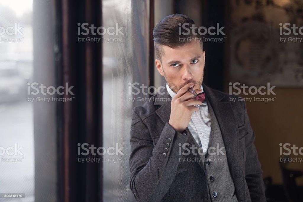 Upper Class Gentleman stock photo