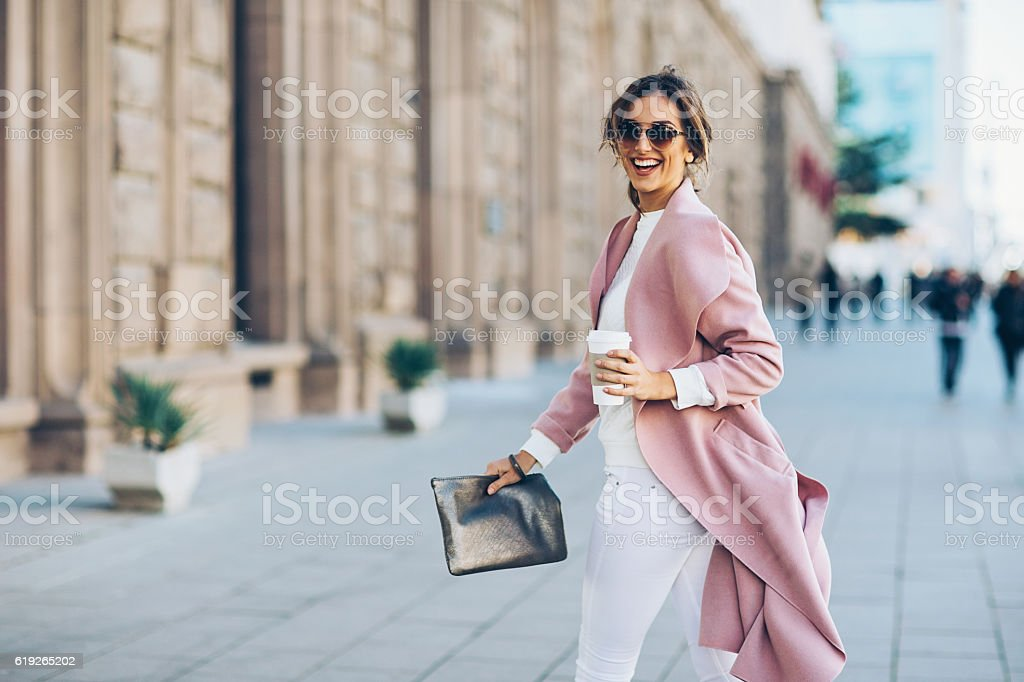 Upper class woman stock photo