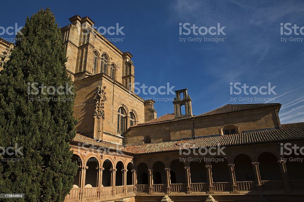 Upper cloister royalty-free stock photo
