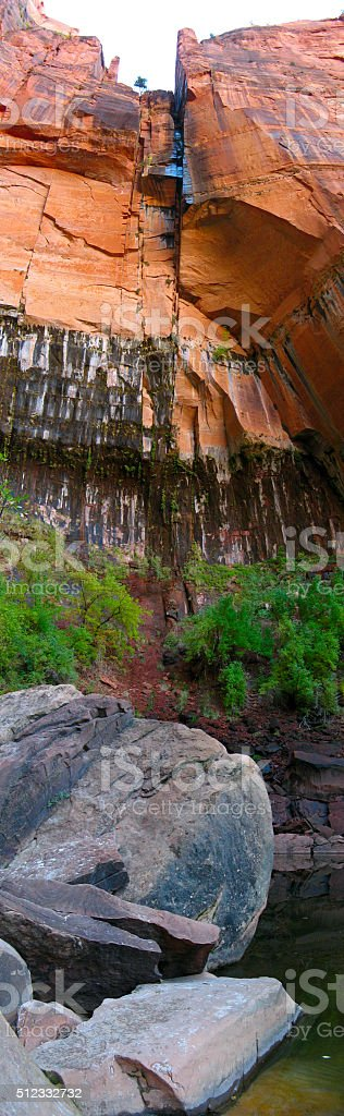 Upper Emerald Pool royalty-free stock photo