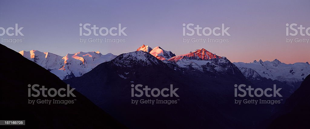 Upper Engadine, Switzerland. royalty-free stock photo
