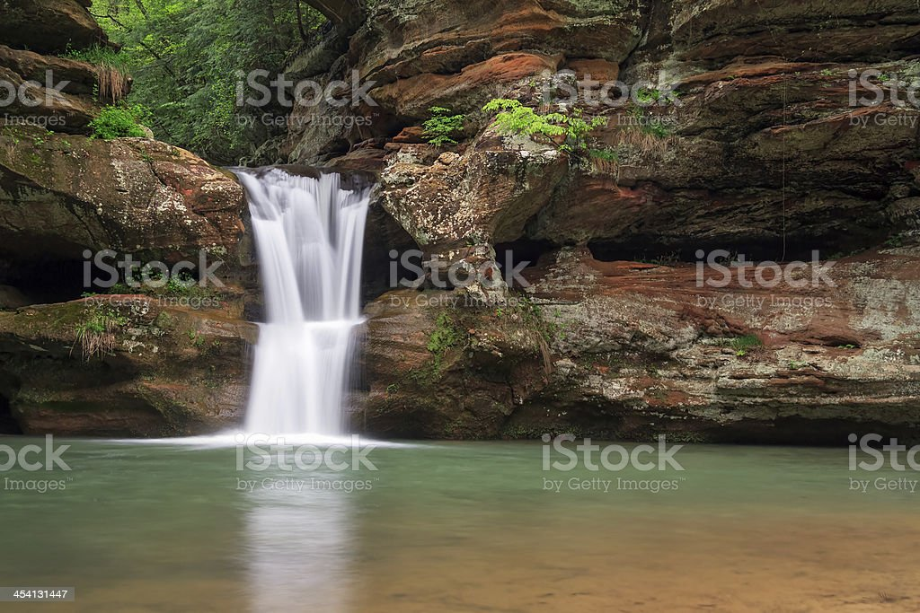 Upper Falls at Old Man's Cave royalty-free stock photo