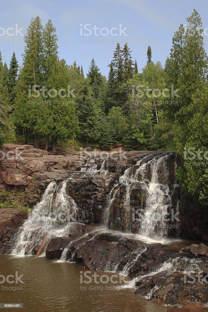 Upper Gooseberry Falls royalty-free stock photo