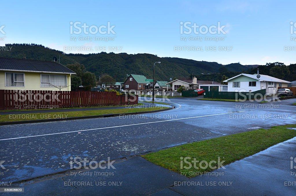 Upper Hutt - Wellington New Zealand stock photo