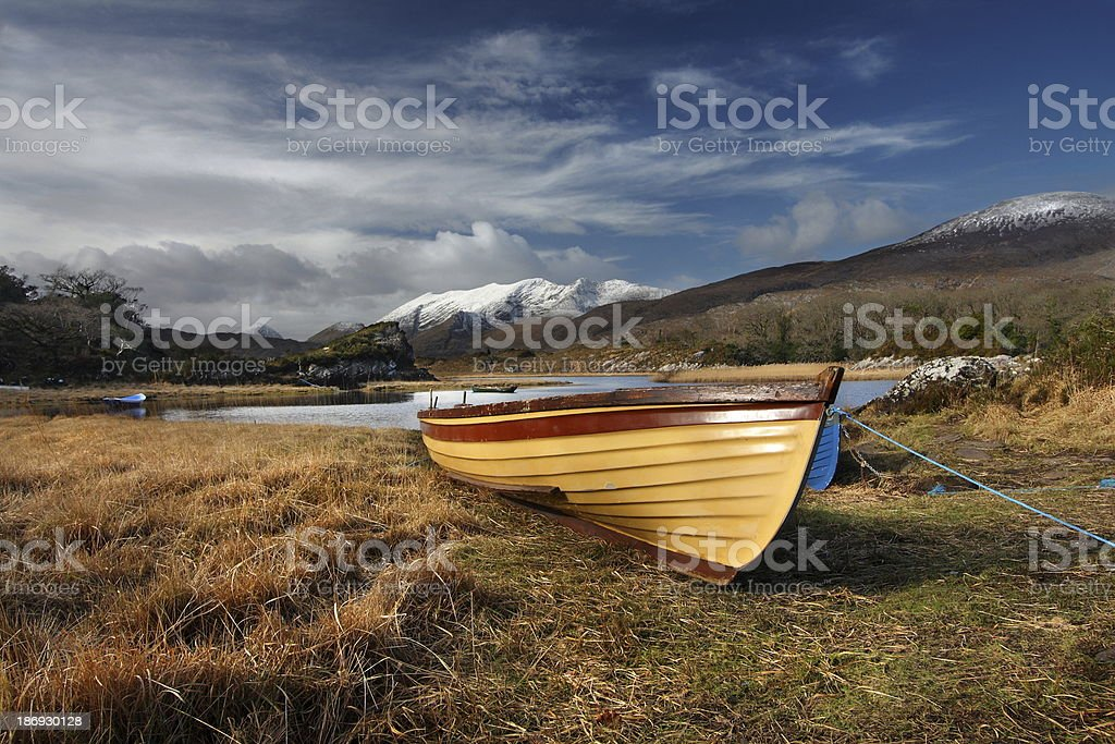 Upper Lake stock photo