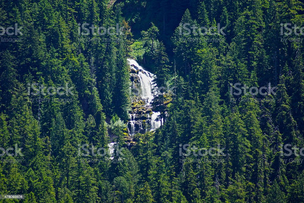 Upper Linton Creek Falls stock photo