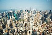 Upper Manhattan from Empire State Building