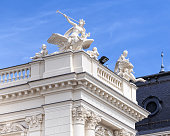 Upper part of the Zurich Opera House