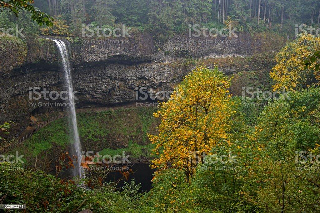 Upper South Falls stock photo