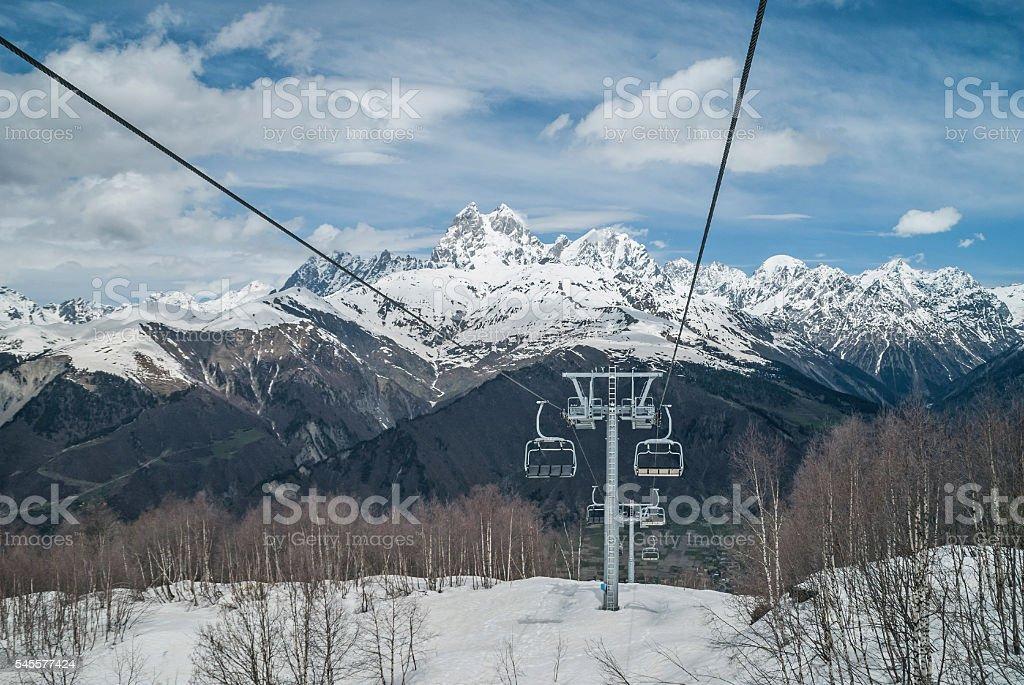 Upper Svaneti, Georgia, Europe stock photo