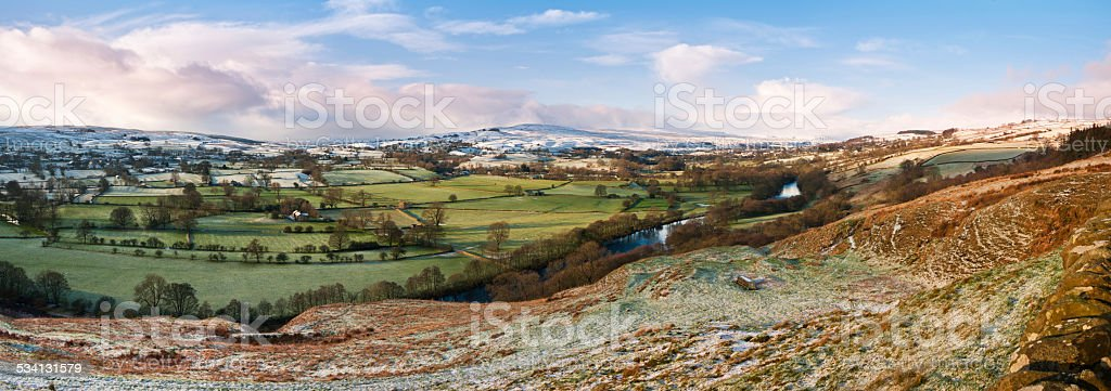 Upper Teesdale, County Durham, UK stock photo