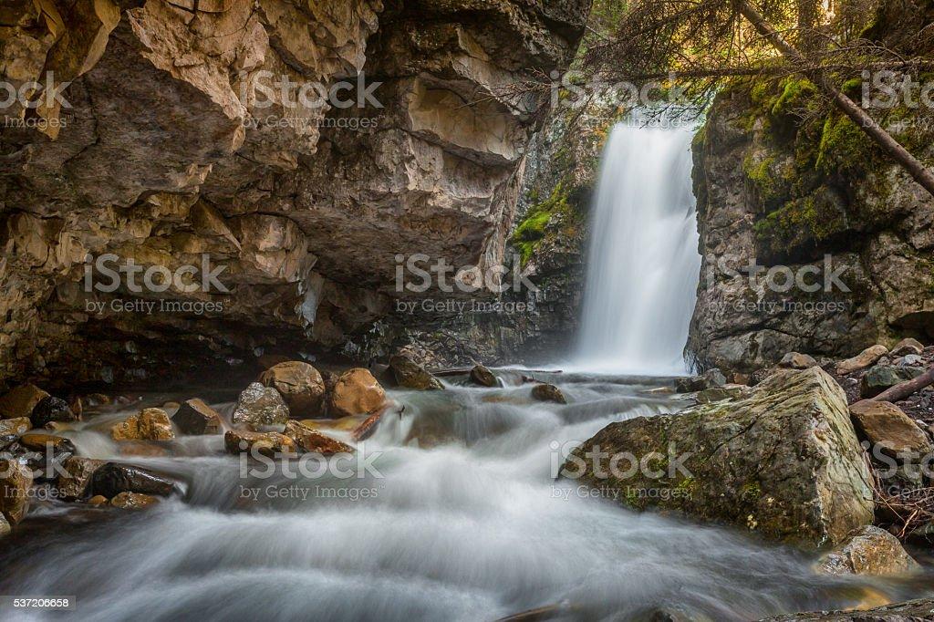 Upper Troll Falls stock photo