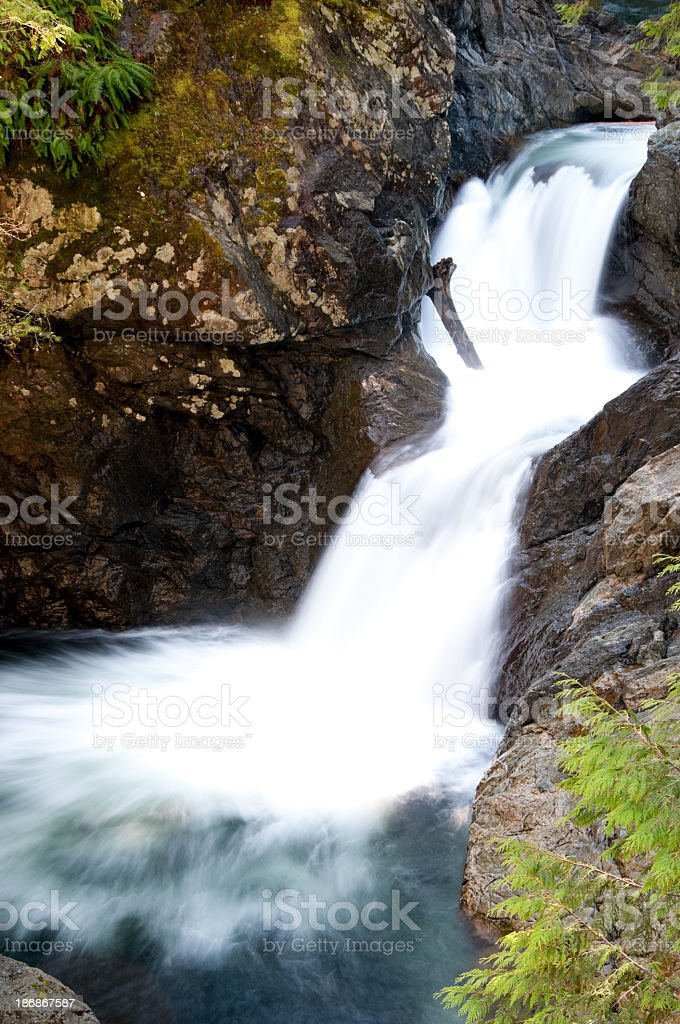 Upper Twin Falls stock photo