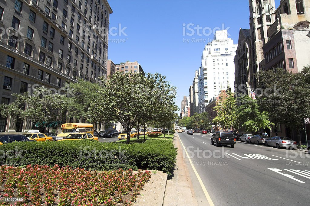 Upper West Side in NYC royalty-free stock photo